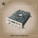 Triple Video In HD COFDM video PCB modulator SG-HBD03